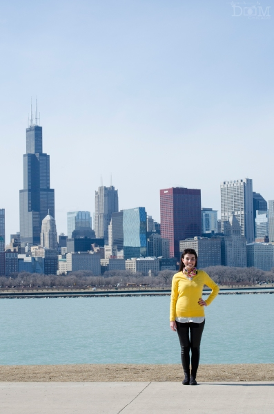 me. skyline. chicago.